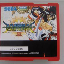 game PCB board Samurai Shodown VI fighting game cartridge
