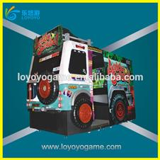 55 inch Let's Go Jungle gun shooting video arcade game machine