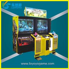 simulator shooting game machine time crisis 3 arcade machine