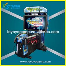 newest Shooting gun game equipment ghost squad with long gun arcade for playground