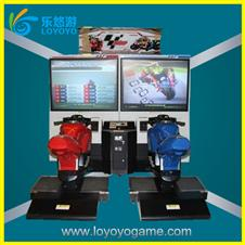 simulator machine driving games game machine Moto GP4 racing (LEDR-07)